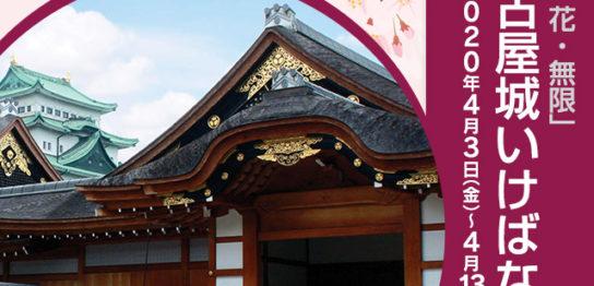 「城・花・無限」名古屋城いけばな展